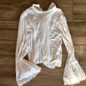 Free People Romantic Blouse